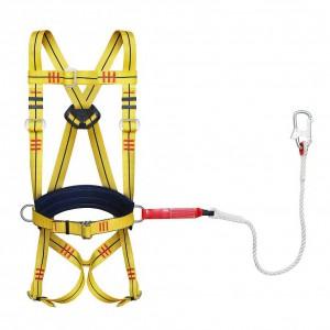 Удерживающая страховочная привязь УСП 2 аВЖ (строп канат с амортизатором)