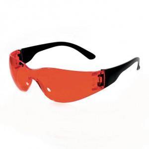Очки защитные открытые (тип Классик Тим) красные