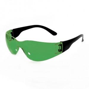 Очки защитные открытые (тип Классик Тим) зеленые